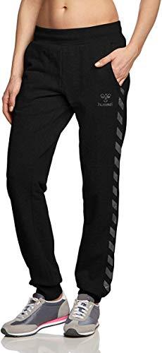 Hummel Damen Jogginghose Pants Classic BEE Womens Sweat, Schwarz (Black), M