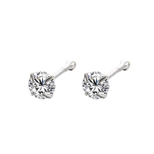 YIY Niet allergisch 1.5mm Neus stud - neus ringen lichaam piercing sieraden voor vrouwen Mode Sieraden
