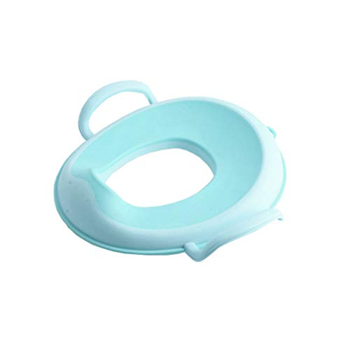 Baby Kids Toilet Training Seat Ring for Boys or Girls Secure Non-Slip Surface Lama Sam /& Friends