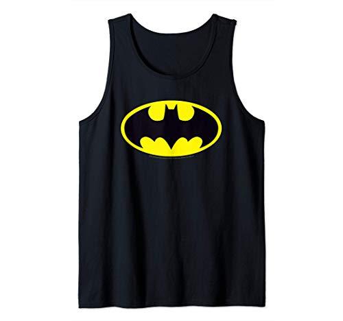 DC Comics Batman Logo Camiseta sin Mangas