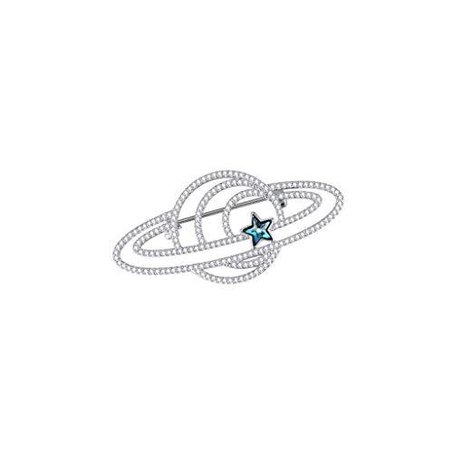 WANBAO Exquisite Brooch Broche Pin de Alta Gama Retro Broche de Lujo Femenino Lindo atmosférico Abrigo decoración Creativa Simple alfiler Broche Pin Insignia Accesorio Abrigo Abrigo de Moda Broche