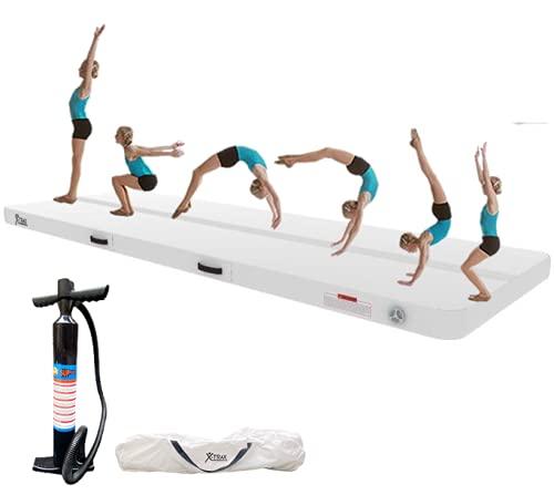 Air Training Mat 3m x 1m Inflatable Gymnastics Air Track Tumbling Mats 10cm...