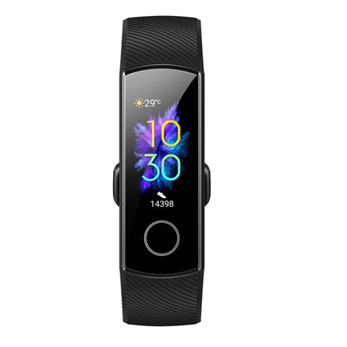 N / B Pulsera Inteligente Bluetooth, bajo Consumo de energía y Pantalla Grande Colorida, con función Impermeable, con podómetro y múltiples Modos Deportivos.