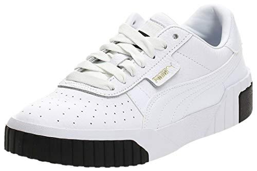 PUMA Cali WN'S, Zapatillas para Mujer, Blanco White Black, 38 EU