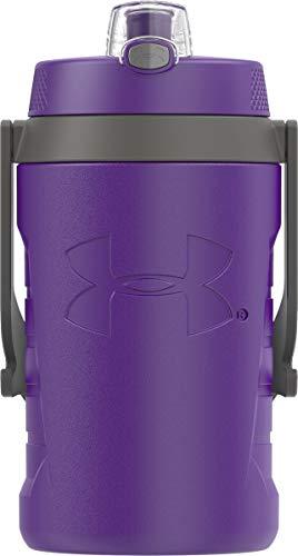 Under Armour Sideline 64 Ounce Water Jug, Purple