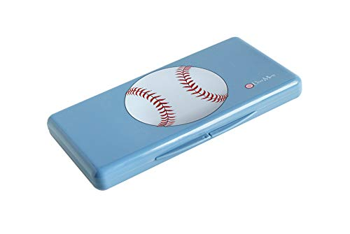 Uber Mom Baseball Wipe Box, Blue