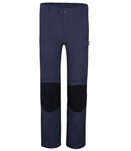 Trollkids Kinder Hammerfest XT Trekking Hose Slim FIT, Mystik Blau, Größe 104