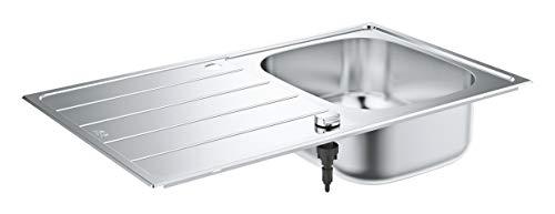 GROHE Evier en acier inoxydable K200 860 x 500 mm Inox 31552SD1 (Import Allemagne)