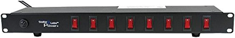 1U Rack Mount Outlet Strip 8 Switched Outlets