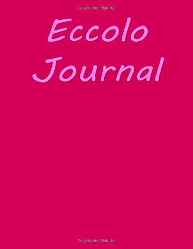 Eccolo journal: Eccolo World Traveler Desk Size Journal, 100 Lined Page Notebook, 8.5 x 11, Black Be Bold.