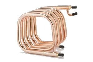Square Counterflow Wort Chiller All Ports 1/2 in. Male NPT Fittings