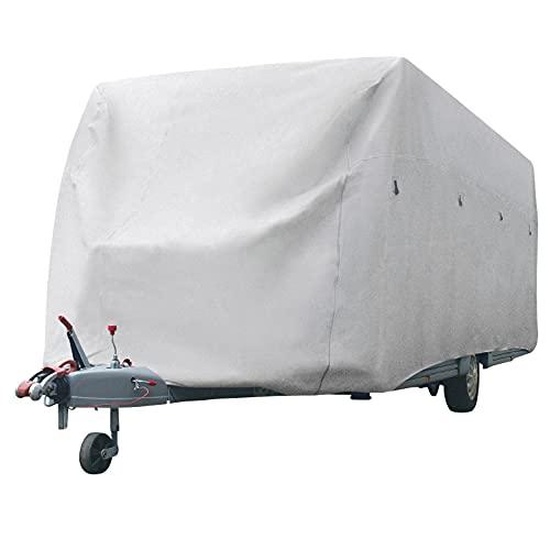 BERGER Wohnwagen Schutzhülle 518cm Wintereinlagerung Caravan Wohnwagen Abdeckung Schutzhaube Garage
