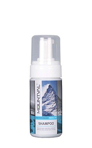 Mountval Shampoo, Schiuma Pulente per Abbigliamento e Protezioni da Scalata, Pulisce Gli Accessori Idrorepellenti
