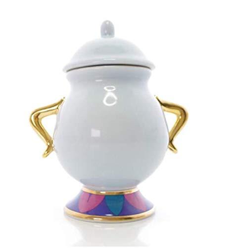 PPGG Cup Hot Koop Cartoon Schoonheid en Het Beest Koffie Set Sugar Bowl Pot Mevrouw Potts Chip Theepot Cup Set Mooie Kerstmis Gift Fast Post