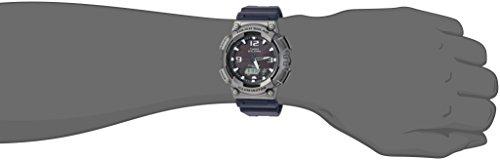 Casio watches Casio Men's Tough (Solar Powered) Quartz Watch with Resin Strap, Black, 25
