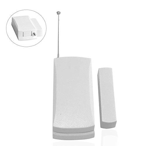 Safe2Home® raamzenor - deursensor met externe antenne voor draadloze alarminstallatie Safe2Home SP110 / SP210