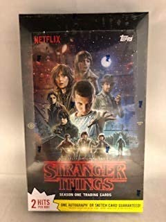 stranger things season one trading cards
