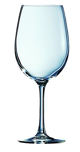 Visiodirect Lot de 24 Verres Cabernet Tulipe 25CL