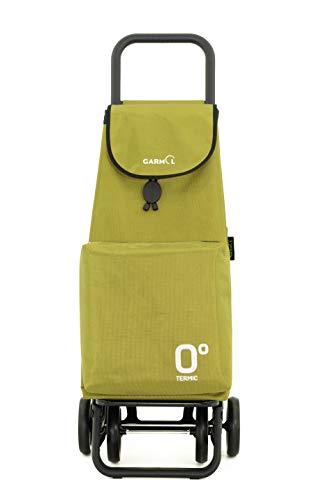 Garmol Carro Compra, Verde Aguacate, 66L
