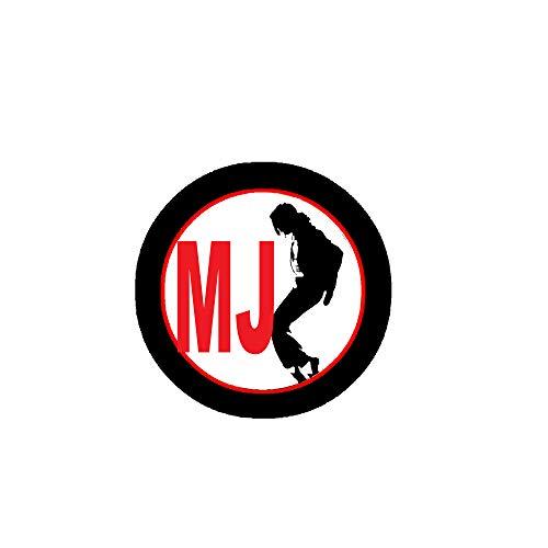 "Silueta MJ 2.25"" Pinback o chaquetas, mochilas, etc."