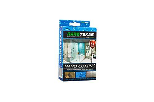 Nanotekas Nano-Beschichtung für Dusche, für Glas und Keramik, wasserabweisender Schutz