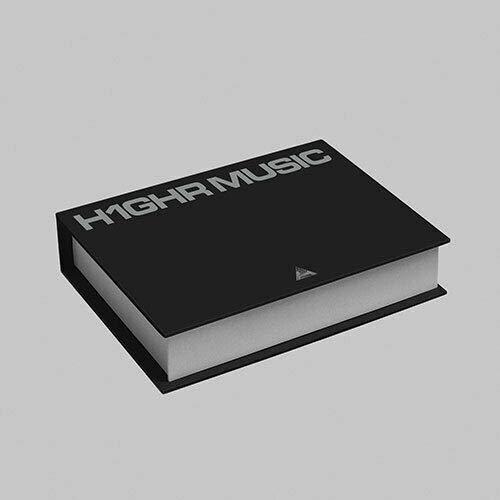 H1GHR MUSIC [H1GHR : RED TAPE & H1GHR : BLUE TAPE] 1st Compilation Album 2ea CD+1ea Booklet+TRACKING CODE K-POP SEALED