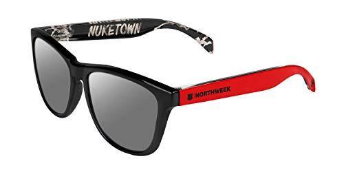 NORTHWEEK Call of Duty Nuketown Edition - Gafas de Sol Polarizadas para Hombre y Mujer
