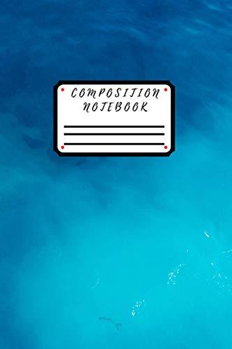 Composition Notebook: Cute Motivational Playful Cat Notebook...