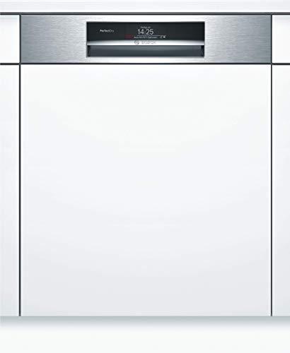 Bosch SMI88US36E Serie 8 Geschirrspüler Integriert / A+++ / 60 cm / 211 kWh/Jahr / 13 MGD / Edelstahl / SuperSilence / TFT-Display / Zeolith / VarioFlex Pro Körbe / VarioSchublade