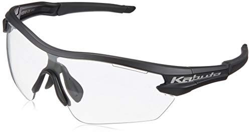 オージーケーカブト(OGK KABUTO) 自転車 スポーツサングラス/アイウエア 101PH (撥水クリア調光レンズ) マットブラック サイズ:M/L