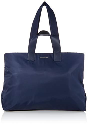 Marc O'Polo Liberta Bolso de hombro para mujer, 17 x 37 x 52 cm, color Azul, talla 17x37x52 cm (B x H x T)