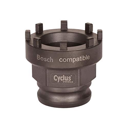 Taille Unique Noir Cyclus Outil de Verrouillage pour Le Montage de la Bague de Fermeture Bosch