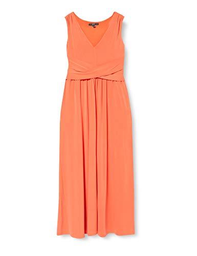 ESPRIT Collection Damen 030EO1E319 Kleid, 825/RED ORANGE, XXL
