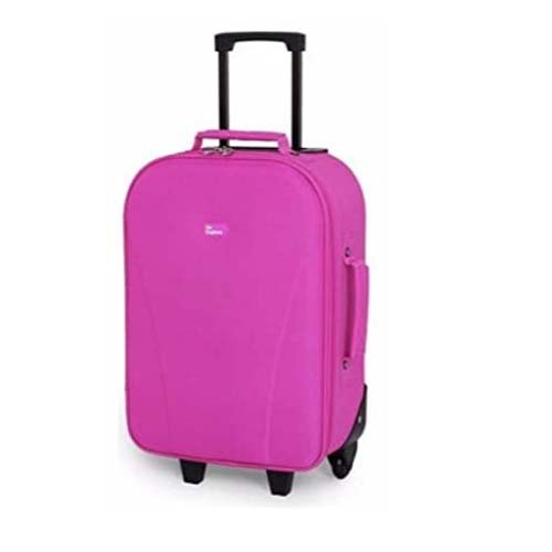 Go Explore Wheeled 2 Wheel Suitcase 24 Liter- Pink