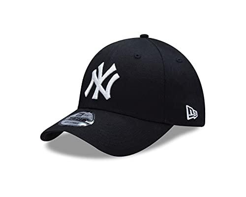 New Era Uniseks Czapka New York Yankees, Biała/Czarna, Regulowana