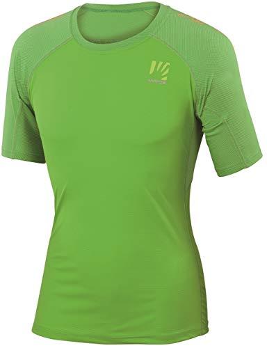 Karpos Moved Maillot de Cyclisme Femme, Apple Green Modèle M 2017 T-Shirt Manches Courtes