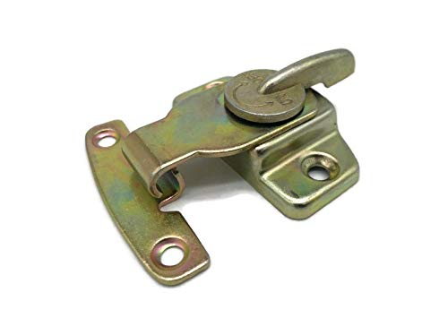 Steel Brass Plated Table Buckles Connector Cam-Type Table Leaf Lock | Dining & Cabinet Table Lock, Hardware Accessories for Vintage & Modern Furniture | TL-8