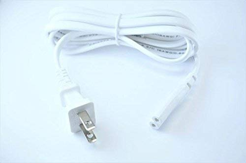 [UL Listed] OMNIHIL White 5 Feet Long AC Power Cord Compatible with SONOS ZONEPLAYER ZP120