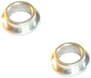 """Albion Flanged Spanner Bushings Spacer Reducers 17mm OD x 1//2/"""" ID Pack of 2"""
