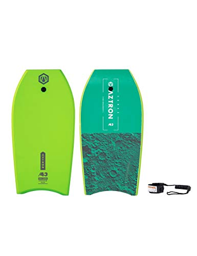 Aztron Ceres Bodyboard Unisex Adultos, Verde, 109 x 55 x 5,6