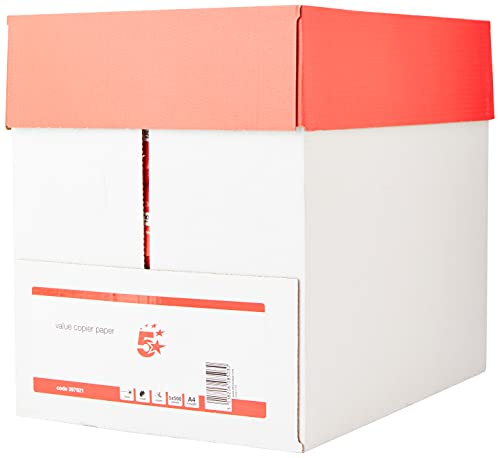 5 Star 397921 Office Value Copier Paper Multifunctional Ream-Wrapped 75gsm...
