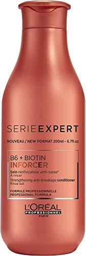 L'Oréal Professionnel Serie Expert Inforcer Conditioner, Anti-Haarbruch Pflegespülung, stärkende Spülung, mit Biotin, strapaziertes Haar, 200 ml