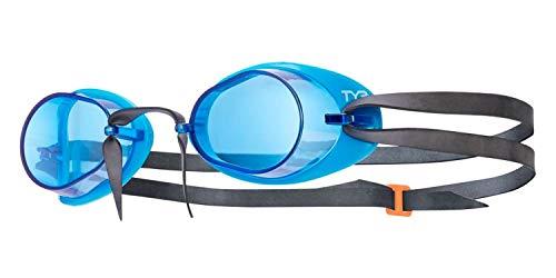 TYR Erwachsene Socket Rocket 2.0 Schwimmbrillen, blau/Schwarz, One Size