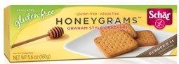 Schar Cookie Honeygrams, 5.6-ounce 4pack