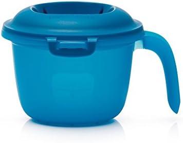 Tupperware Microwave Seasonal Wrap Introduction Rice Cooker Large-scale sale 2.25 Cup Steamer Blue Mug