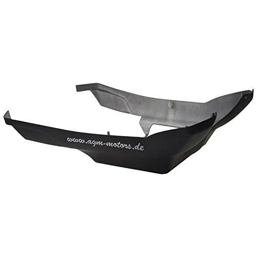 Xfight-Parts Unterbodenverkleidung l=800 schwarz-matt 43 4Takt 125ccm YY125T-28