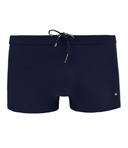 BOSS Hugo Swimwear Badepant Oyster Badehose schnell trocknend Dunkelblau/Navy L