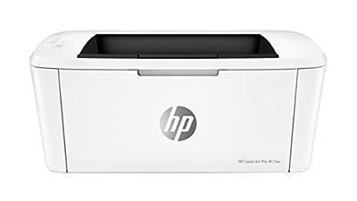 HP LaserJet Pro M15w Printer, White
