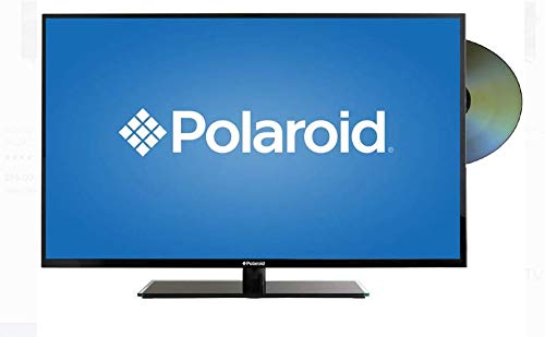 "Polaroid 32"" 720p Televisor HD Pantalla LED TV DVD incorporado HDMI USB 32GSD3000FB (Renewed)"
