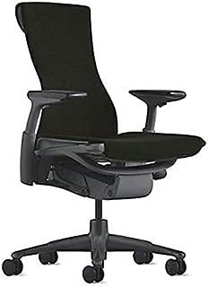 【正規品】Herman Miller (ハーマンミラー) エンボディチェア オフィスチェア グラファイト(ブラック) シンク:ブラック BBキャスター 12年保証 CN122AWAAG1G1BB3Y12